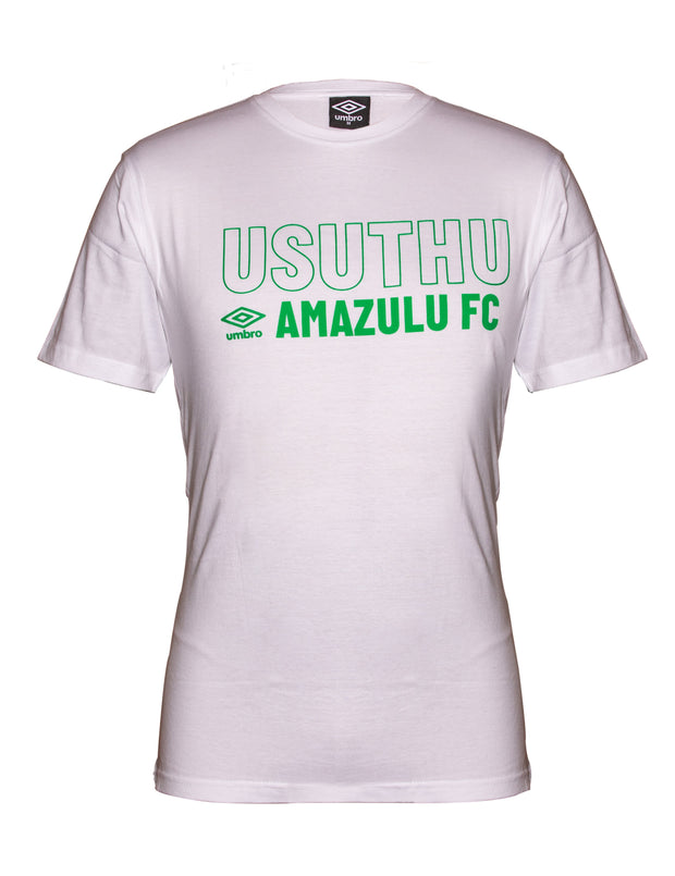 Amazulu Supporter T-Shirt 2019/2020 - White - Umbro South Africa