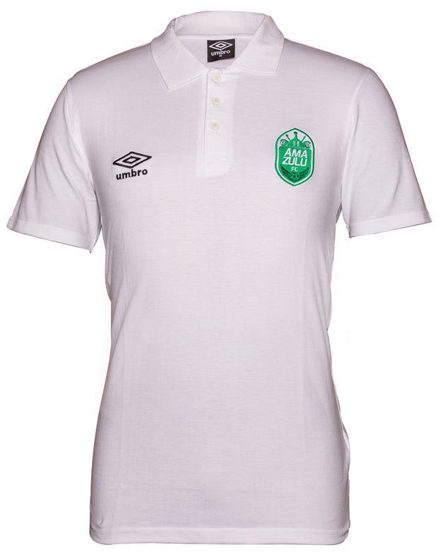 Amazulu Supporters Polo - White - Umbro South Africa
