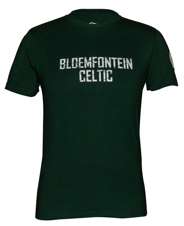 Bloemfontein Celtic Supporters T-Shirt - Bottle Green - Umbro South Africa