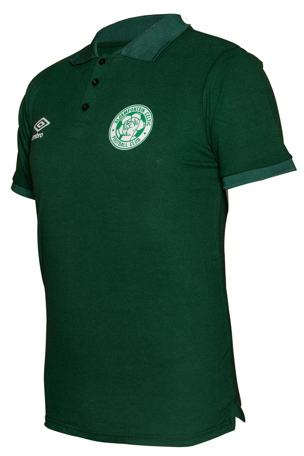 Bloemfontein Celtic Supporters Golfer - Bottle Green - Umbro South Africa