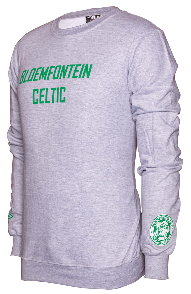Bloemfontein Celtic Supporters Crew top - Grey Melange - Umbro South Africa