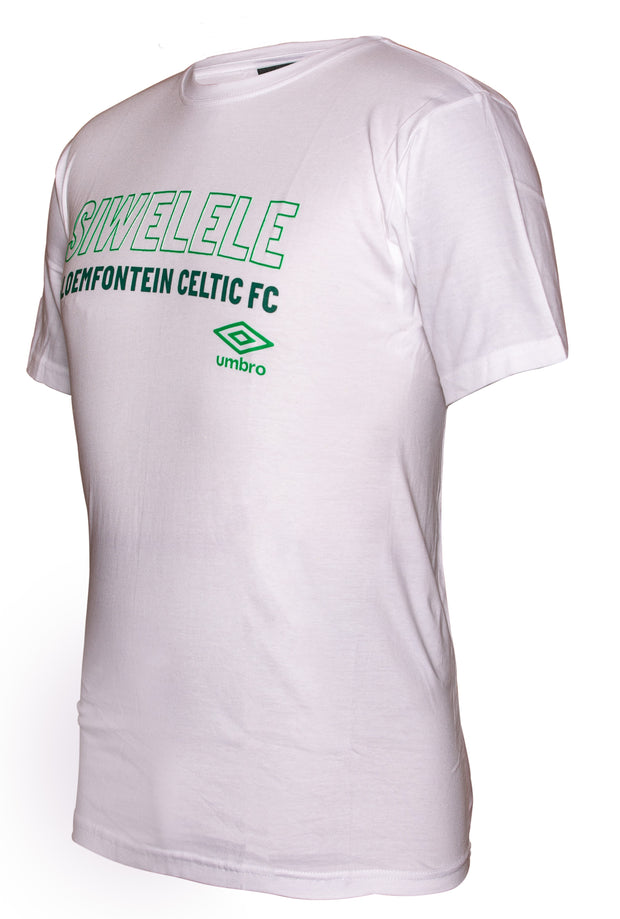 Bloemfontein Celtic Supporters T-Shirt 2019/2020 - White - Umbro South Africa