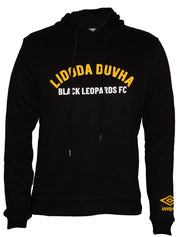 Black Leopards Supporters Hoodie 2019/2020 - Black - Umbro South Africa