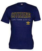 Cape Town City Supporters T-Shirt 2019/2020 - Royal - Umbro South Africa