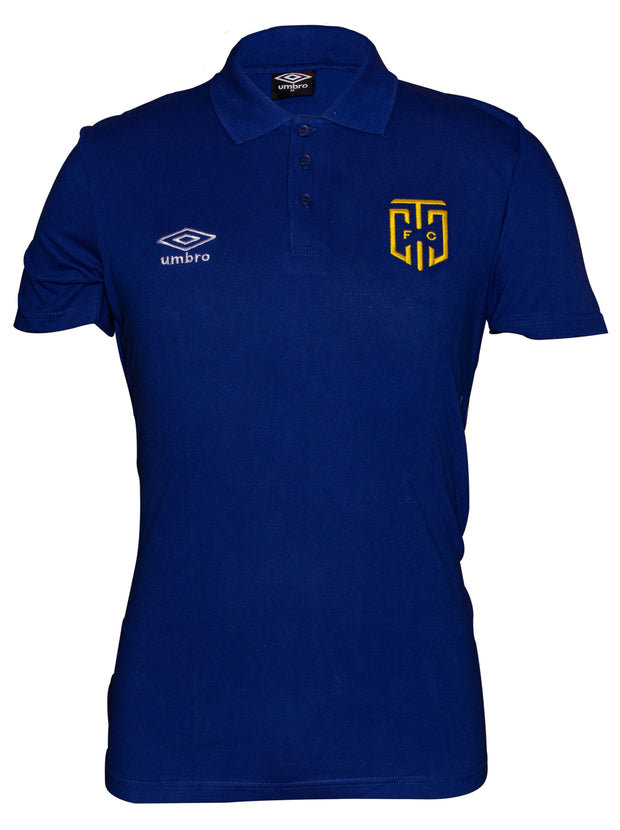 Cape Town City Supporters Polo 2019/2020 - Royal - Umbro South Africa