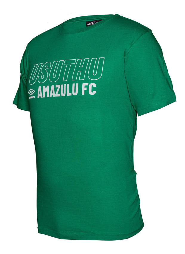 Amazulu Supporters T-Shirt 2019/2020 - Emerald - Umbro South Africa