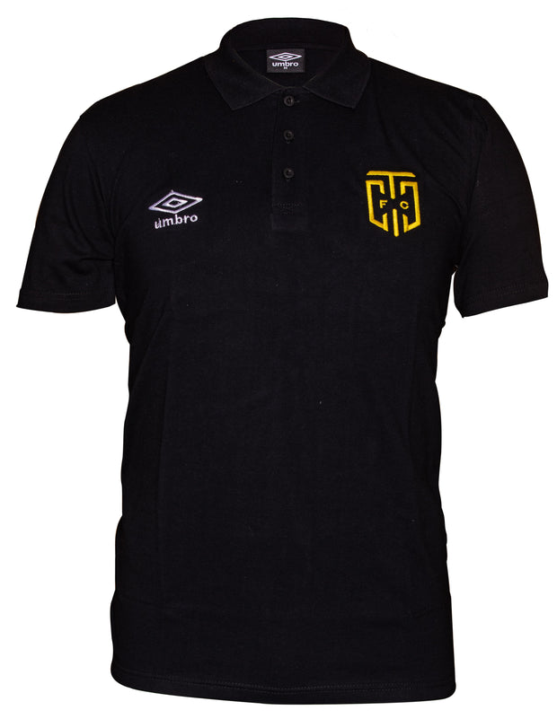 Cape Town City Supporters Polo 2019/2020 - Black - Umbro South Africa