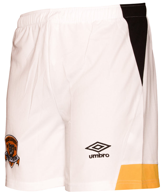Black Leopards FC Away Match Short - 19'/20 - White/Marigold