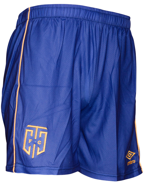 Cape Town City FC Home Match Short - 17'/18' - Royal/Gold