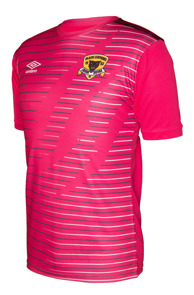 Black Leopards Alt Replica Jersey 2019/2020 - Pink/Navy - Umbro South Africa