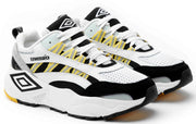 Umbro Neptune Sneaker - White/Black/Grey/Blazing Yellow - Umbro South Africa