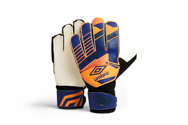 Umbro Neo Club Glove - (Bright Marigold/Spectrum Blue/Teaberry) - Junior - Umbro South Africa