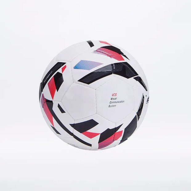 Neo League IMS Match Ball (White/Ibiza Blue/Black/Cherry Tomato)