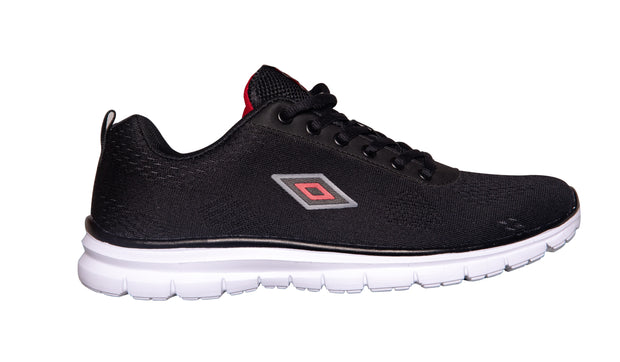 Umbro Scarpe Mesh Runner - Black/Shark - Umbro South Africa