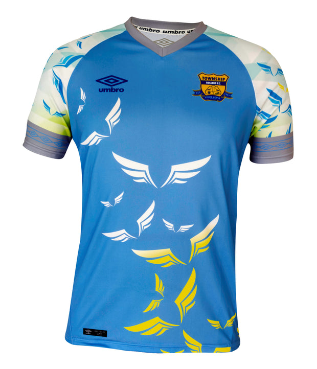 Township Rollers Alternate Replica Jersey - 18/19 - Sky Blue - Umbro South Africa