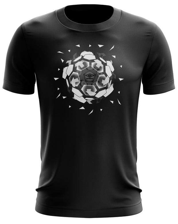 Umbro Explosive Tee - (Black/White/Carbon) - Mens - Umbro South Africa