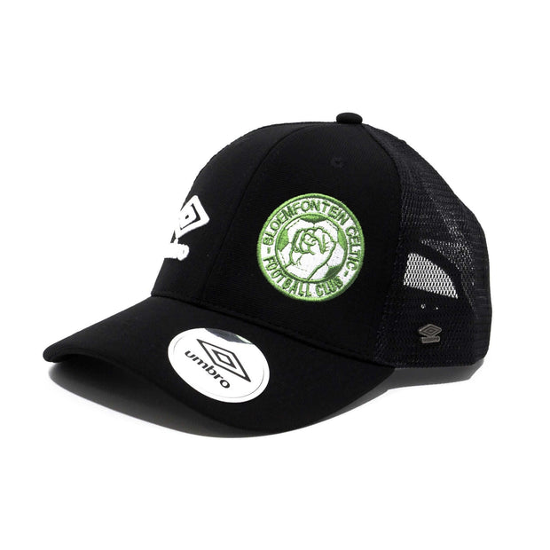 Bloemfontein Celtic FC Supporters Trucker Cap - Black - Umbro South Africa