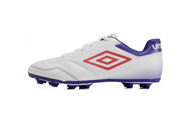 Classico VI Football Boots - (White/Teaberry/Spectrum Blue) - Umbro South Africa