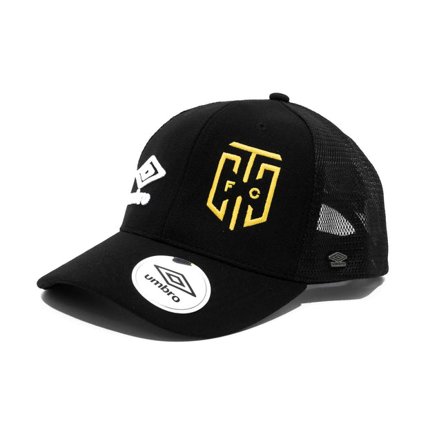 Cape Town City FC Supporters Trucker Cap - Black - Umbro South Africa