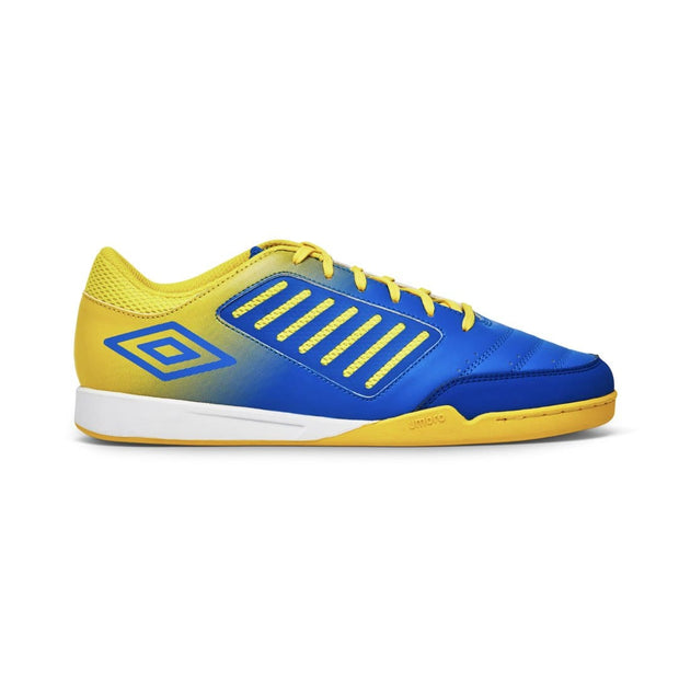 Chaleira League Futsal Boots (Electric Blue/Blazing Yellow) - Umbro South Africa