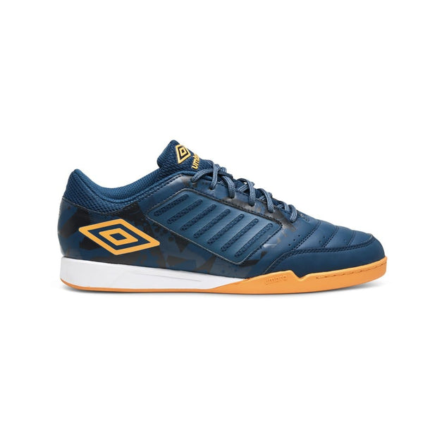 Chaleira League Futsal Boots (Gibraltar Sea/Bright Marigold) - Umbro South Africa
