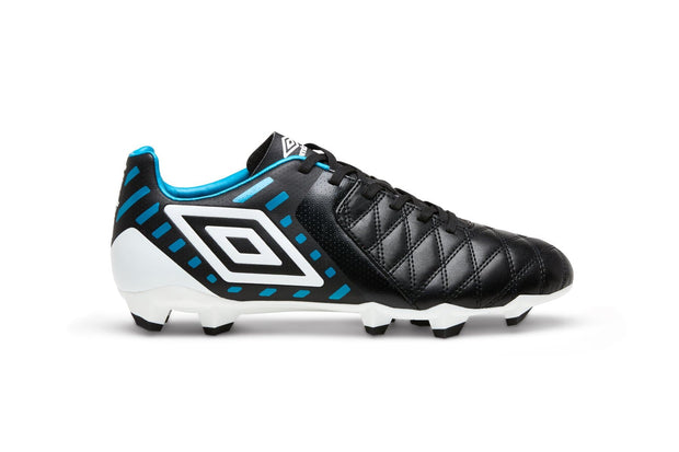 Medusae II League Football Boots - Black/White/Caribbean Sea - Umbro South Africa