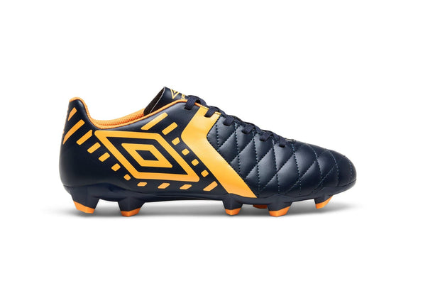 Medusae II League Football Boots - Peacoat/Bright Marigold - Umbro South Africa