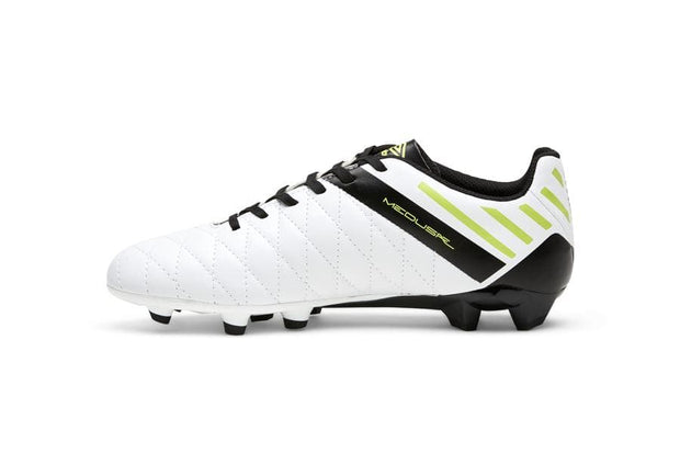 Medusae II League Football Boots - White/Black/Acid Lime - Umbro South Africa