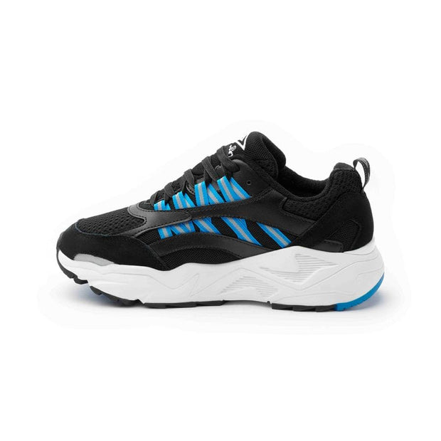 Umbro Neptune Sneaker - Black/White/Ibiza Blue - Umbro South Africa