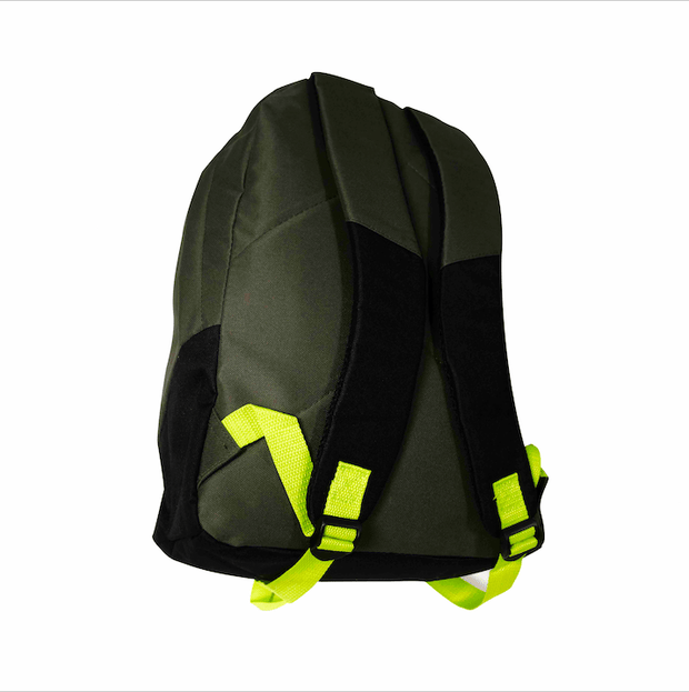 Paton Backpack (Charcoal/Lime) - Umbro South Africa