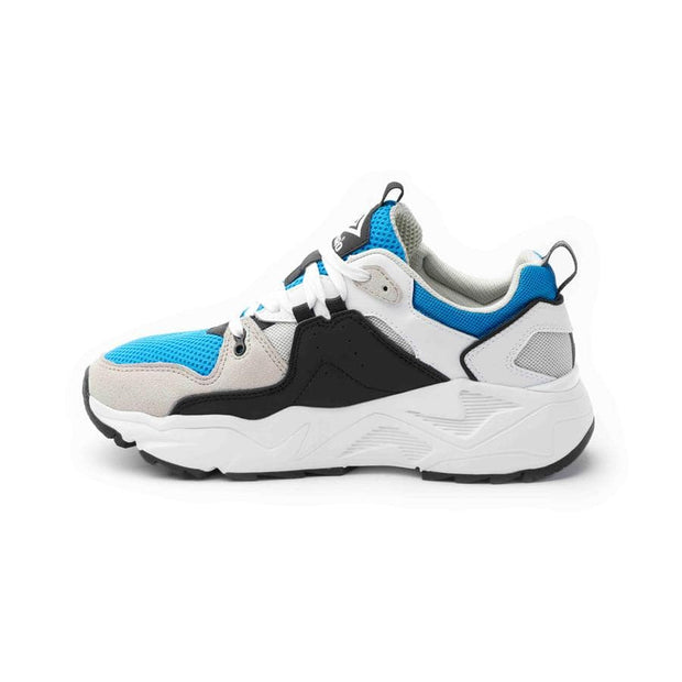Runner Sneaker - White/Black/Ibiza Blue/Grey - Umbro South Africa
