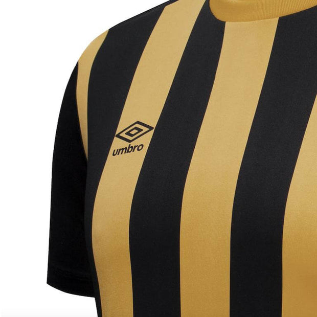 Capital SS Football Jersey - Amber/Black - Umbro South Africa