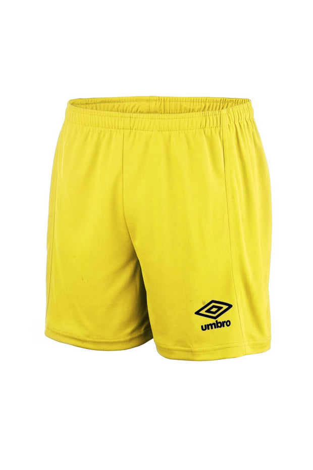 Vincita Football Shorts (Yellow/Black) - Umbro South Africa