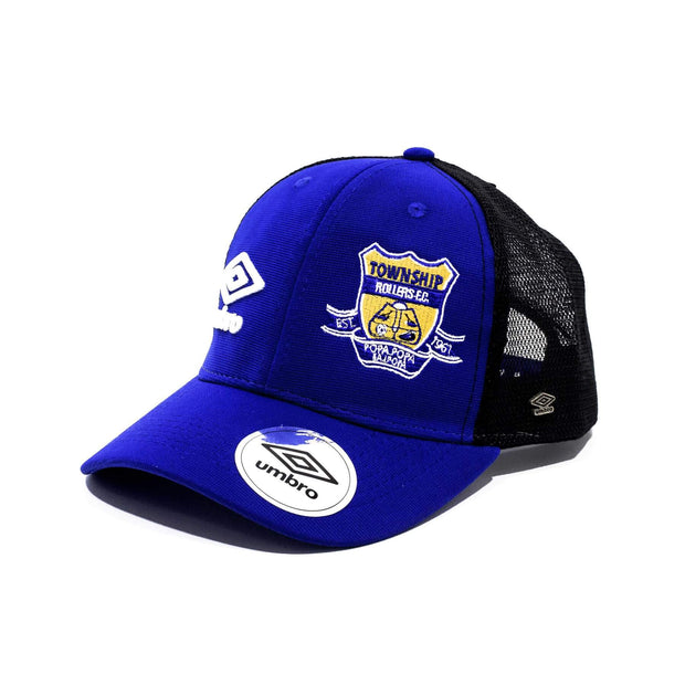 Township Rollers FC Supporters Trucker Cap - Royal - Umbro South Africa