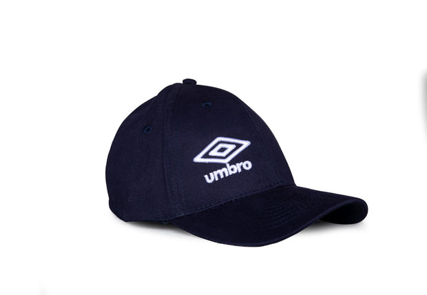 Umbro Curved Peak Cap - (Navy/White) - Umbro South Africa