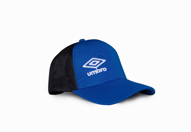 Umbro Trucker Peak Cap - (Royal/Black) - Umbro South Africa