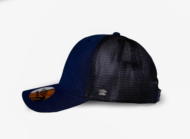 Umbro Trucker Peak Cap - (Navy/Black) - Umbro South Africa