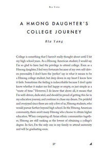 A New Journey: Hmong College Student Experiences