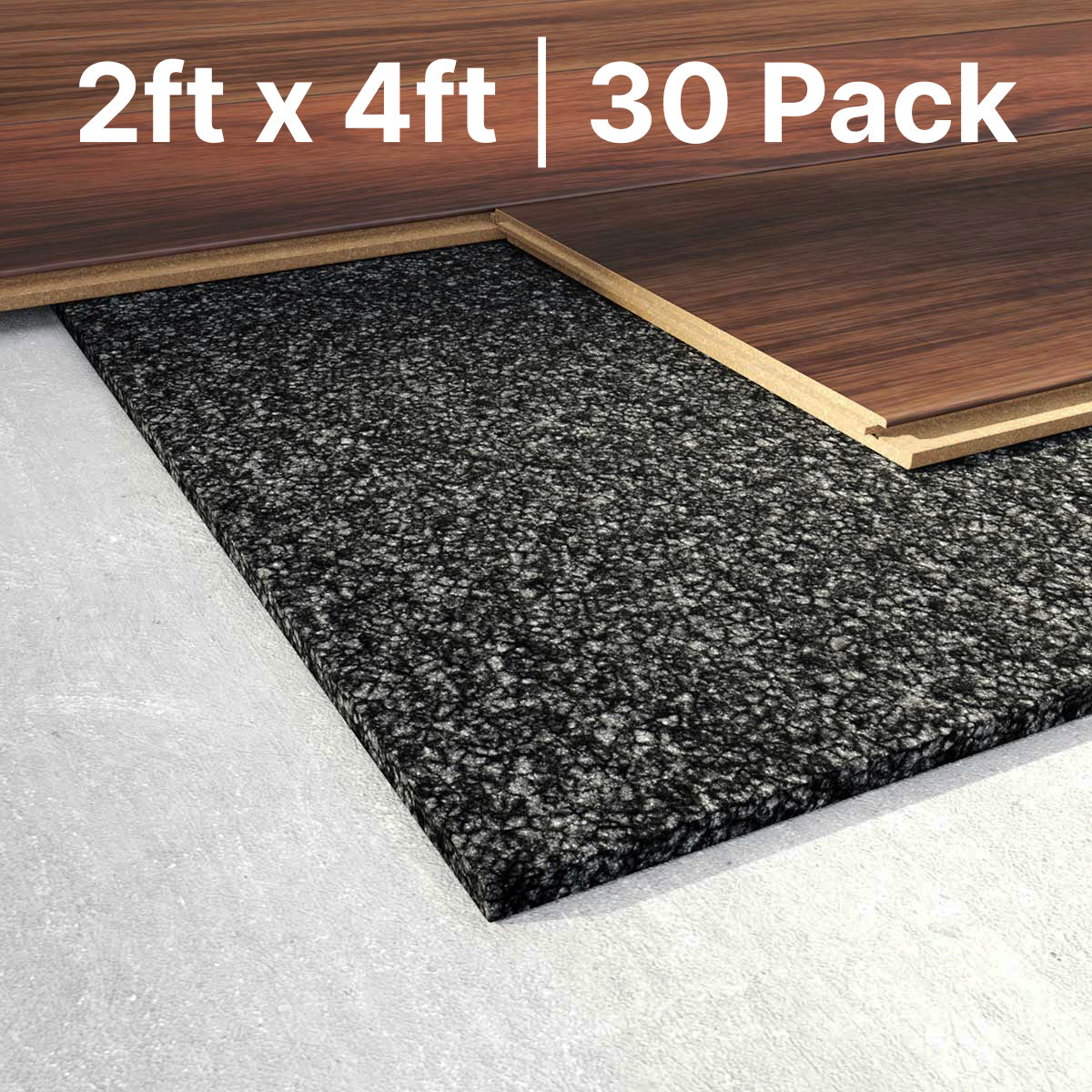 CeraZorb HD 2ft X 4ft Insulating Synthetic Cork Underlayment (30 Pack & 40 Pack)  - Prism One