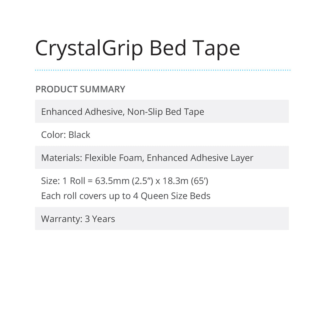 CrystalGrip Bed Tape  - Prism One