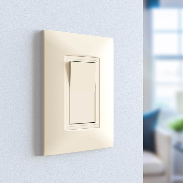 Kaleida Screwless Wall Plate 1-Gang (Gen 2)  - Prism One