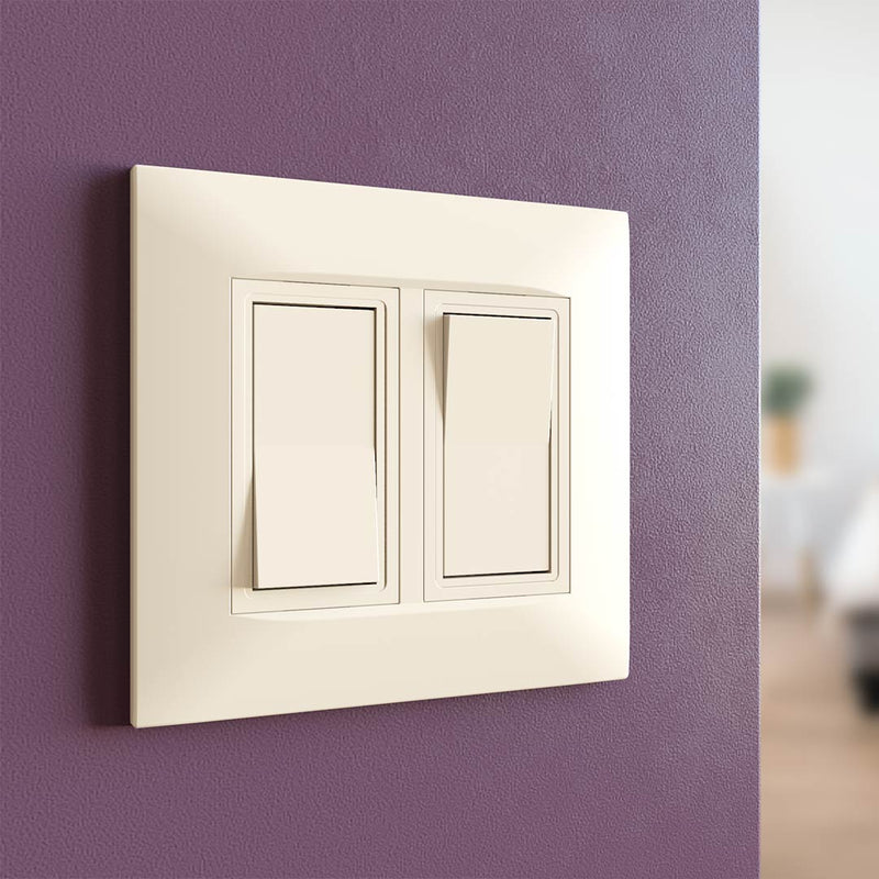 Kaleida Screwless Wall Plate 2-Gang (Gen 2)  - Prism One