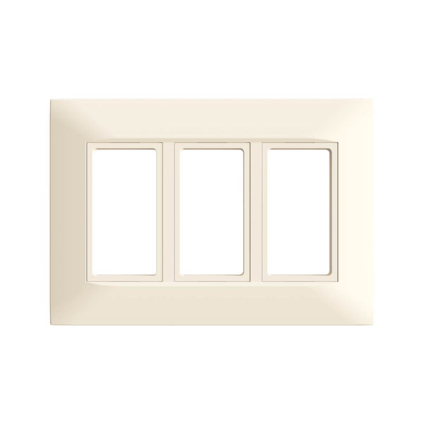 Kaleida Screwless Wall Plate 3-Gang (Gen 2)  - Prism One
