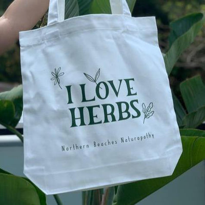 Bag - I love herbs