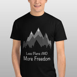 Less Plans and More Freedom