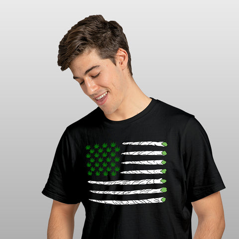 Weed Flag T-shirt