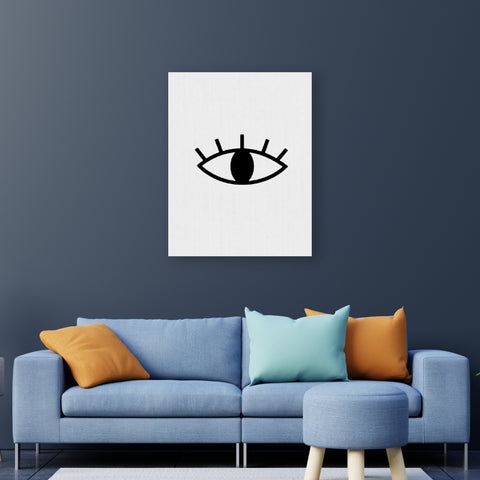 Eyes - Handpainted Canvas Art 12 inch x 18 inch