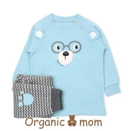 Tea Time Bear Toddler PJ (Winter) - Organic Mom Hong Kong