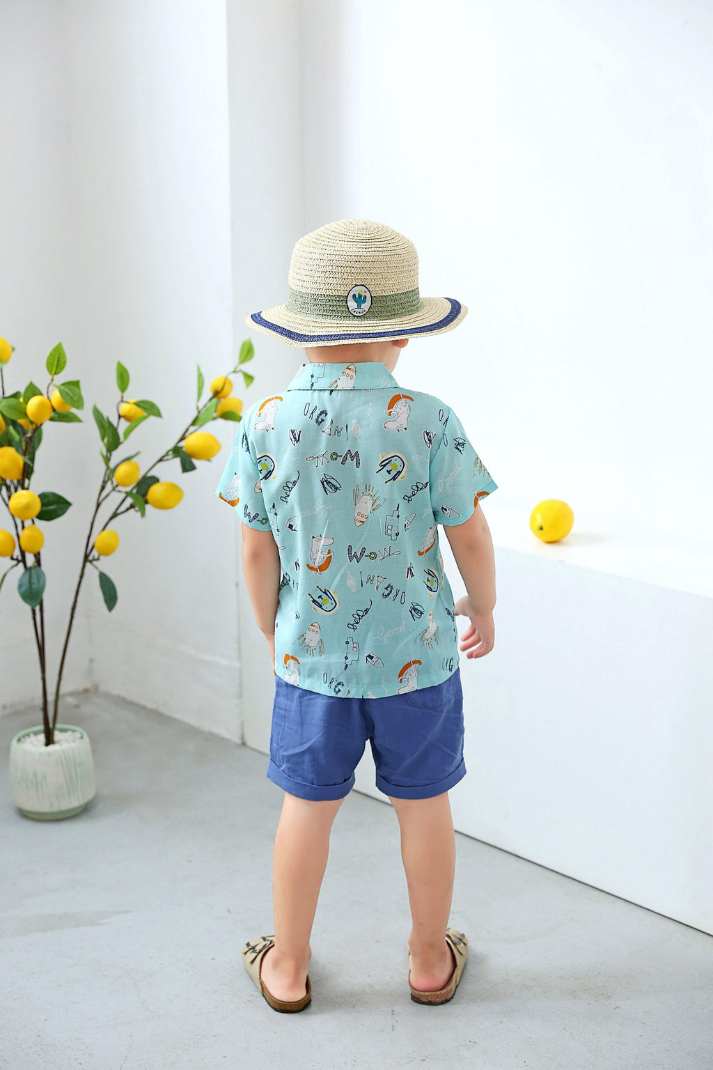 Coby Hawaii Organic Outfit - Organic Mom Hong Kong