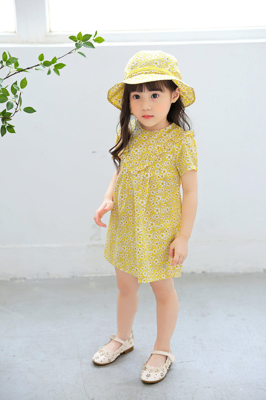 Cassidy Floral Organic Outfit - Organic Mom Hong Kong